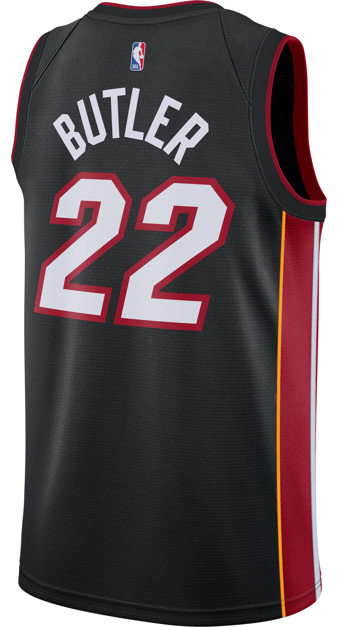online retailer fcb78 6118b Nike Men's Miami Heat Jimmy Butler #22 Black Dri-FIT Swingman Jersey