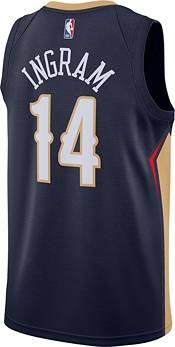 Nike Men's New Orleans Pelicans Brandon Ingram #14 Navy Dri-FIT Swingman Jersey product image