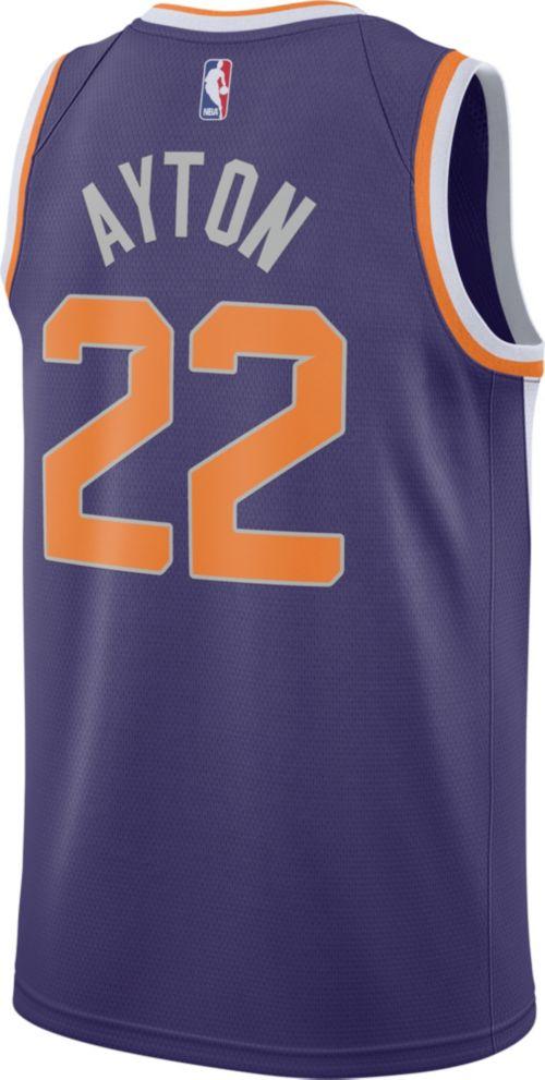 e546ff130 Nike Men s Phoenix Suns DeAndre Ayton  22 Purple Dri-FIT Swingman Jersey.  noImageFound. Previous. 1. 2. 3
