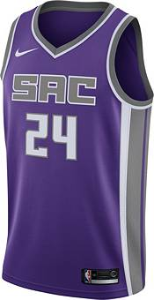 Nike Men's Sacramento Kings Buddy Hield #24 Purple Dri-FIT Swingman Jersey product image