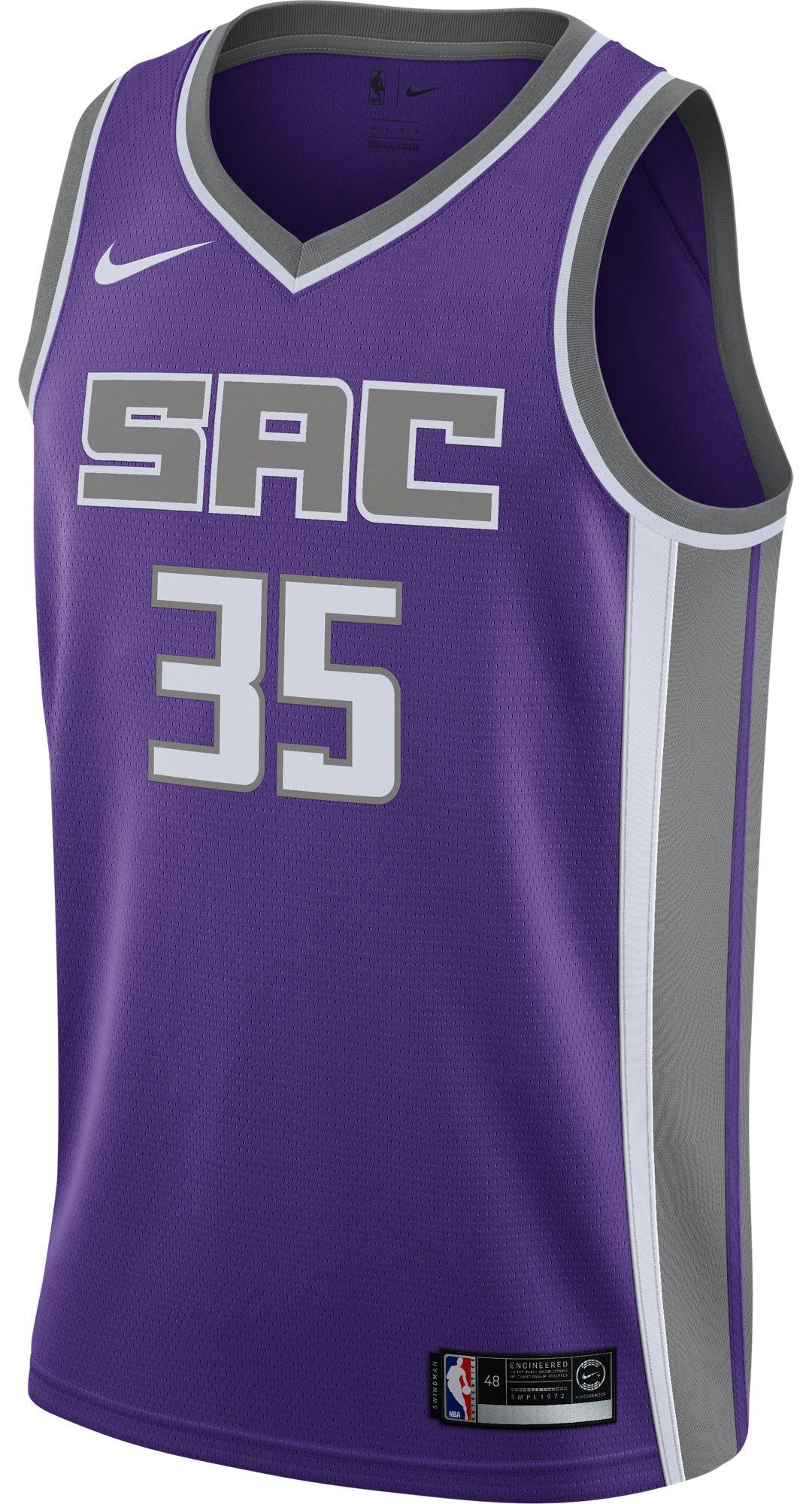 3debbbaffac Nike Men's Sacramento Kings Marvin Bagley III #35 Purple Dri-FIT Swingman  Jersey 2