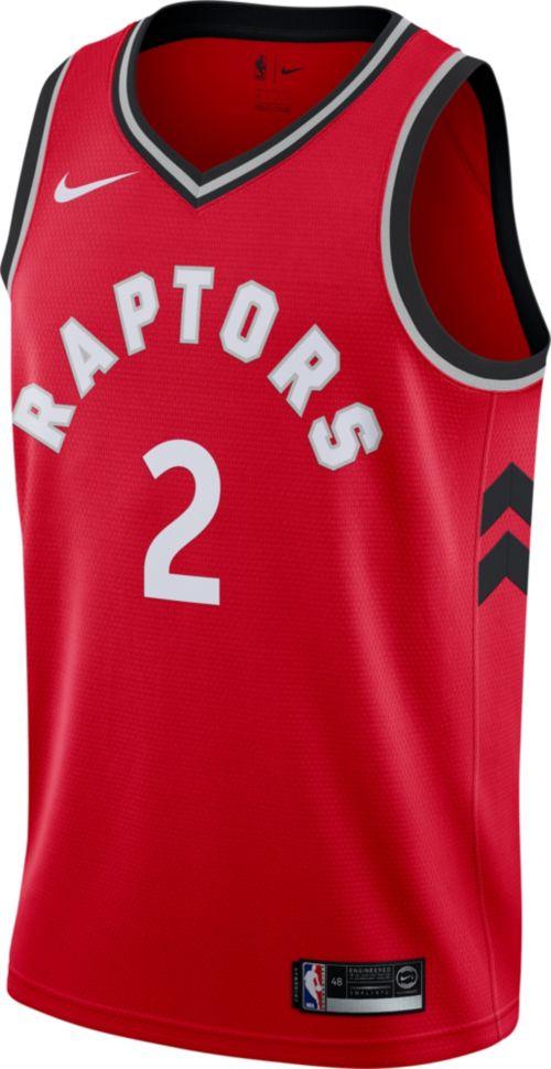 e3ac1499fae4 Nike Men s Toronto Raptors Kawhi Leonard  2 Red Dri-FIT Swingman Jersey