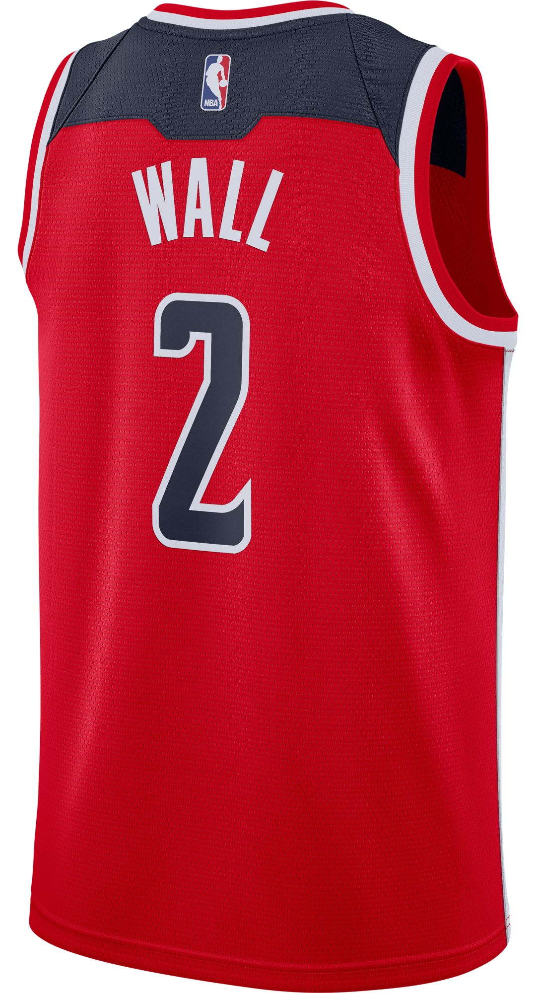 info for 34158 444be Nike Men's Washington Wizards John Wall #2 Red Dri-FIT Swingman Jersey