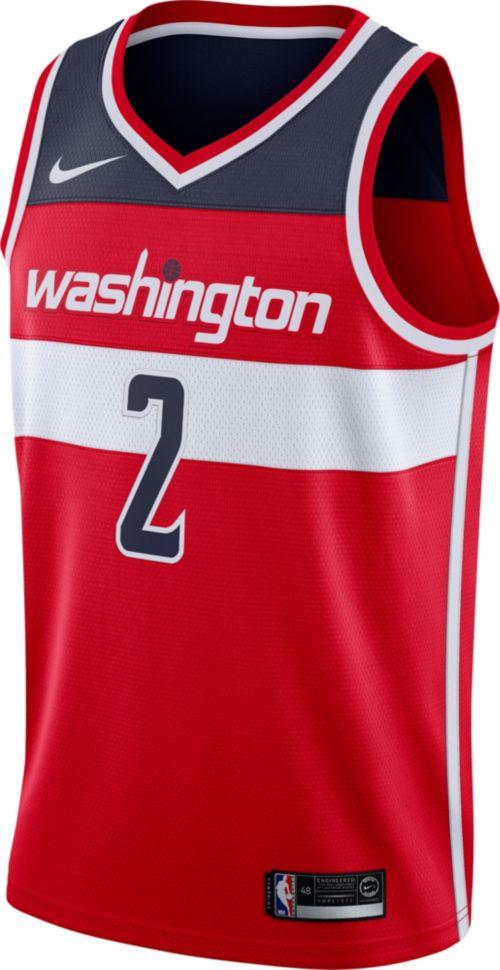 9317f4920fd Nike Men's Washington Wizards John Wall #2 Red Dri-FIT Swingman Jersey.  noImageFound. Previous