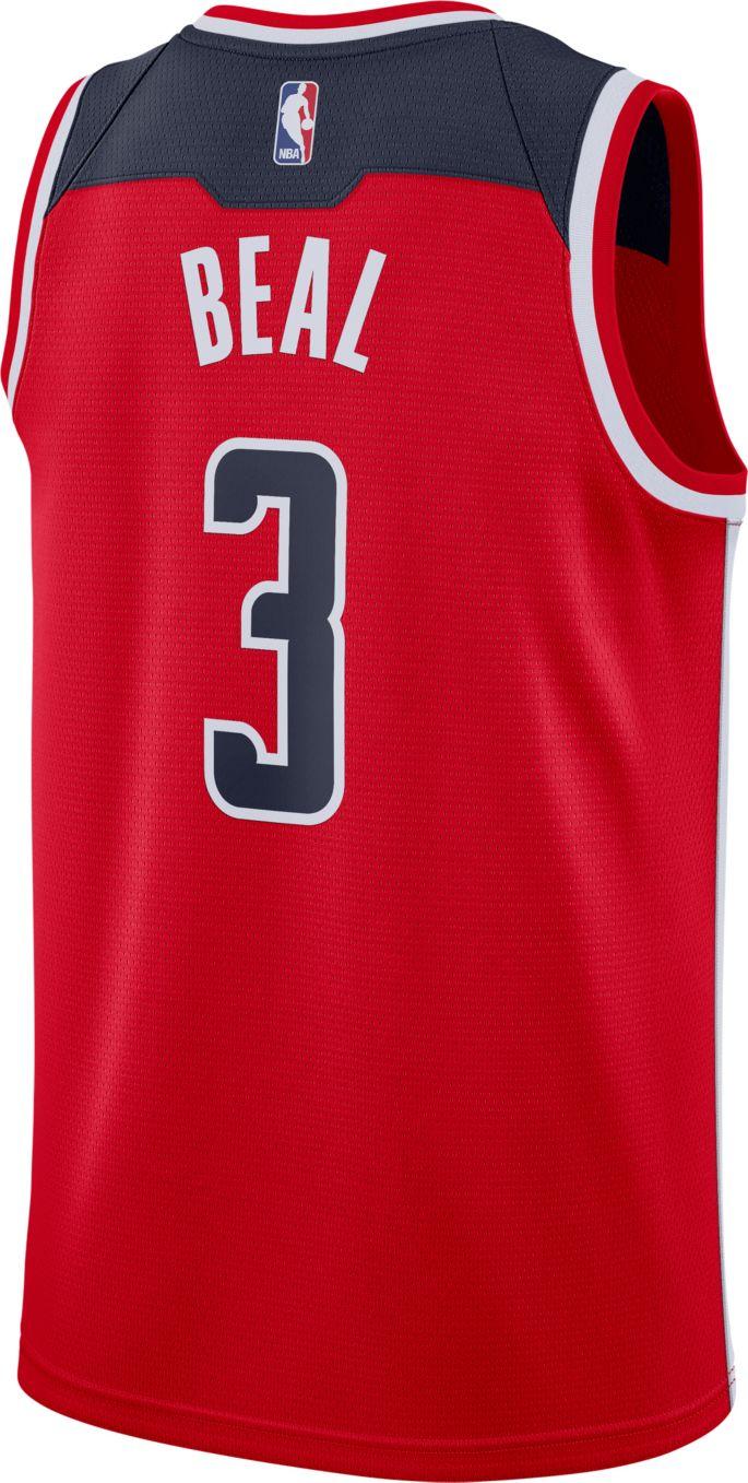 best website 54378 9df15 Nike Men's Washington Wizards Bradley Beal #3 Red Dri-FIT Swingman Jersey