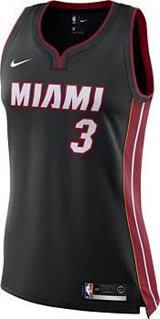 Nike Women's Miami Heat Dwyane Wade #3 Black Dri-FIT Swingman Jersey product image