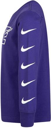 Nike Little Boys' Interlaced Block Swoosh Long Sleeve Shirt product image