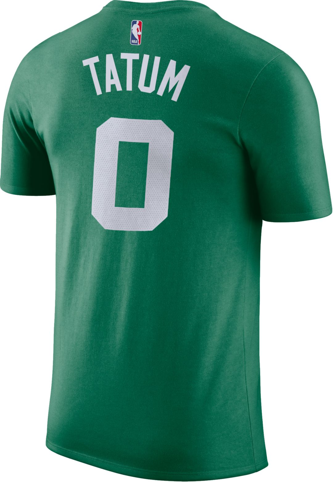 sale retailer 47be6 6eef0 Nike Men's Boston Celtics Jayson Tatum #0 Dri-FIT Kelly Green T-Shirt