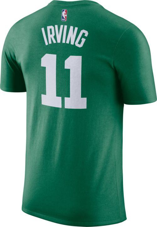 afb0e2cac229 Nike Men s Boston Celtics Kyrie Irving  11 Dri-FIT Kelly Green T ...