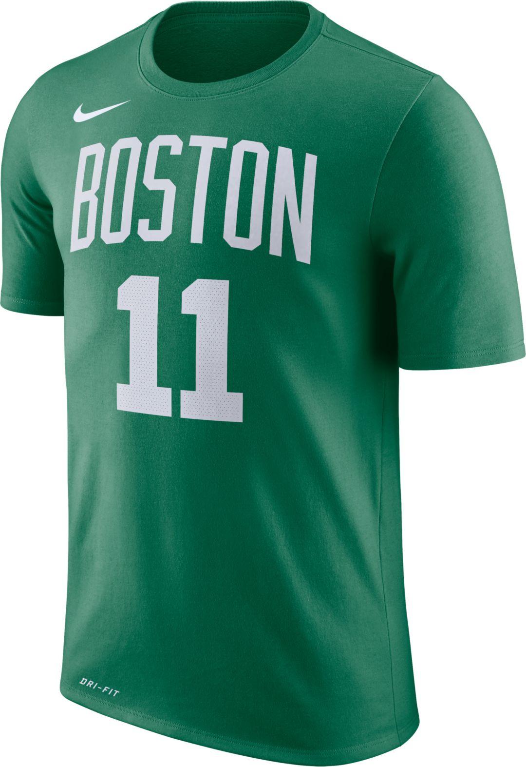 pick up 14e1c d574e Nike Men's Boston Celtics Kyrie Irving #11 Dri-FIT Kelly Green T-Shirt
