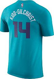 Jordan Men's Charlotte Hornets Michael Kidd-Gilchrist #14 Dri-FIT Teal T-Shirt product image