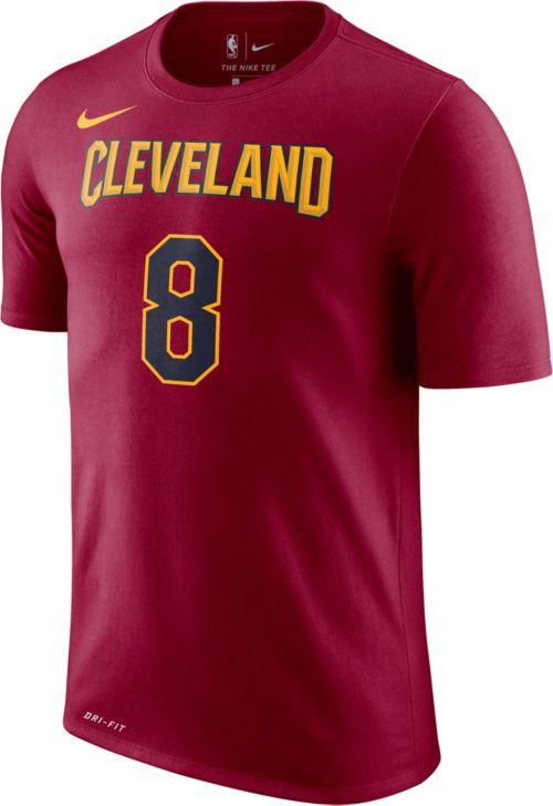 Nike Men s Cleveland Cavaliers Jordan Clarkson  8 Dri-FIT Burgundy T-Shirt.  noImageFound. Previous 962f057f9