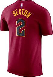 Nike Men's Cleveland Cavaliers Collin Sexton #2 Dri-FIT Burgundy T-Shirt product image