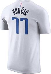 Nike Men's Dallas Mavericks Luka Doncic #77 Dri-FIT White T-Shirt product image