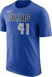 Nike Men's Dallas Mavericks Dirk Nowitzki #41 Dri-FIT Royal T-Shirt product image