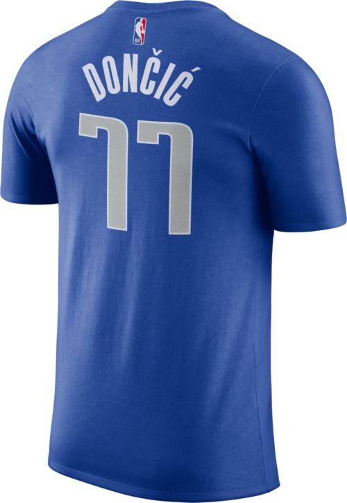 9faf9de7bbe ... Luka Doncic  77 Dri-FIT Royal T-Shirt. noImageFound. Previous. 1. 2. 3