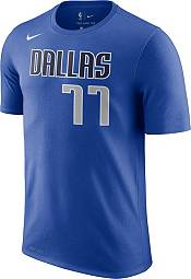 Nike Men's Dallas Mavericks Luka Doncic #77 Dri-FIT Royal T-Shirt product image