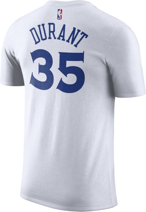 Nike Men s Golden State Warriors Kevin Durant  35 Dri-FIT White T-Shirt.  noImageFound. Previous. 1. 2. 3 c10aa1fff