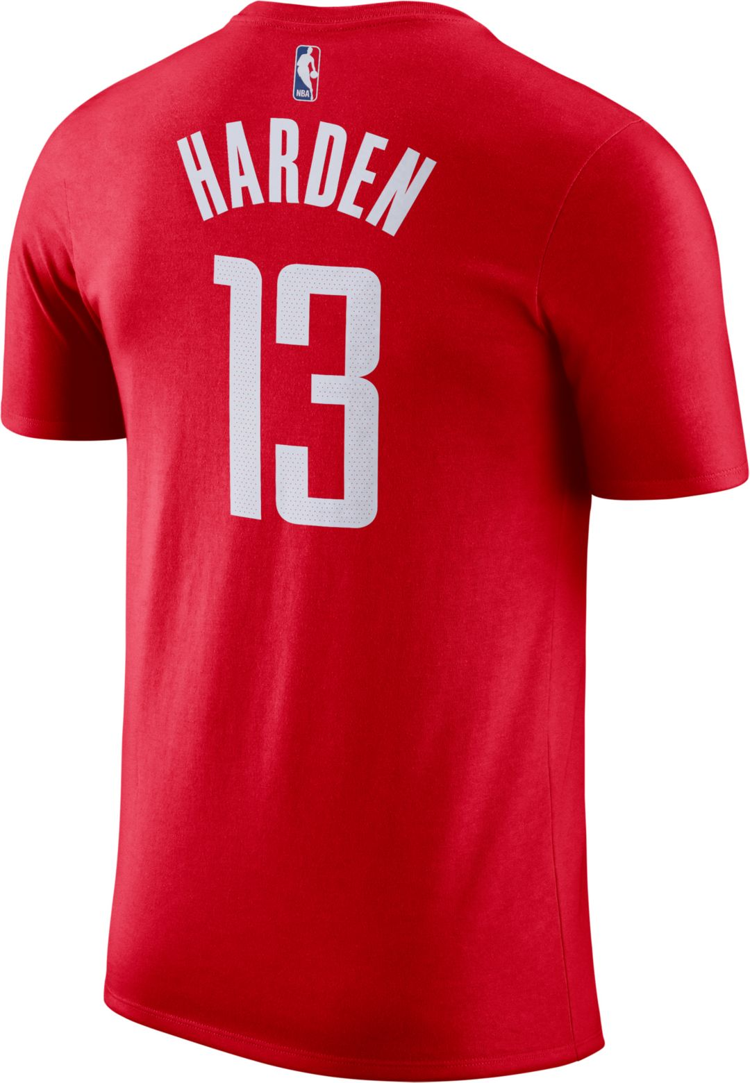 new styles 6c78b 3f4a3 Nike Men's Houston Rockets James Harden #13 Dri-FIT Red T-Shirt