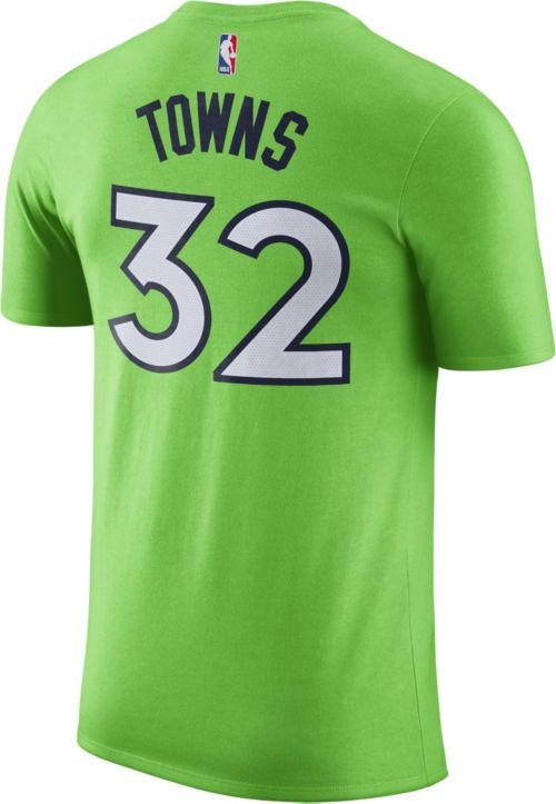 f4983d336cc5ac Nike Men s Minnesota Timberwolves Karl-Anthony Towns  32 Dri-FIT Green T- Shirt. noImageFound. Previous. 1. 2. 3