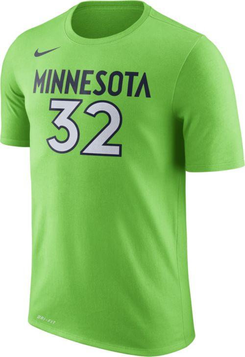 20b57d6021eb02 Nike Men s Minnesota Timberwolves Karl-Anthony Towns  32 Dri-FIT Green T- Shirt. noImageFound. Previous