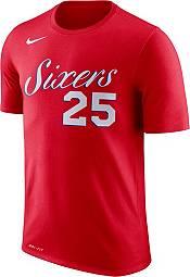 Nike Men's Philadelphia 76ers Ben Simmons #25 Dri-FIT Statement Red T-Shirt product image