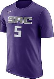 Nike Men's Sacramento Kings De'Aaron Fox #5 Dri-FIT Purple T-Shirt product image