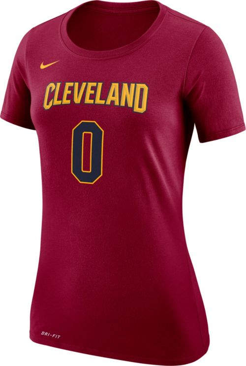 best website 8e664 21249 Nike Women s Cleveland Cavaliers Kevin Love  0 Dri-FIT Burgundy T ...