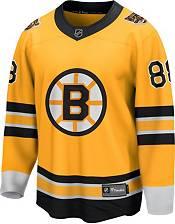 NHL Men's Boston Bruins David Pastrnak #88 Special Edition Gold Replica Jersey product image