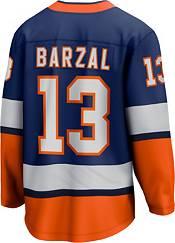NHL Men's New York Islanders Mathew Barzal #13 Special Edition Blue Replica Jersey product image