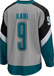 NHL Men's San Jose Sharks Evander Kane #9 Special Edition Grey Replica Jersey product image