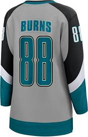 NHL Women's San Jose Sharks Brent Burns #88 Special Edition Grey Replica Jersey product image