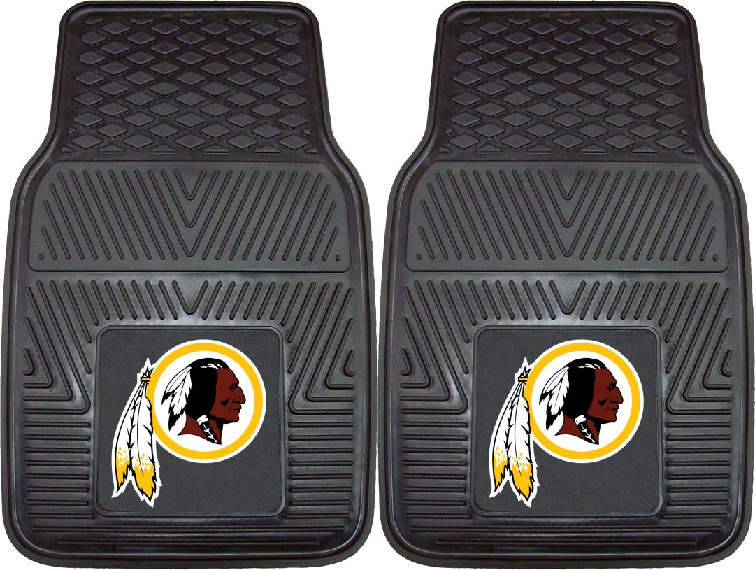 Superb Fanmats Washington Redskins 2 Piece Heavy Duty Vinyl Car Mat Set Squirreltailoven Fun Painted Chair Ideas Images Squirreltailovenorg
