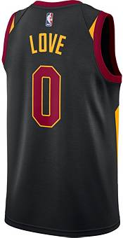 Nike Men's Cleveland Cavaliers Kevin Love #0 Black Dri-FIT Statement Swingman Jersey product image
