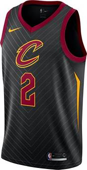 Nike Men's Cleveland Cavaliers Collin Sexton #2 Black Dri-FIT Statement Swingman Jersey product image