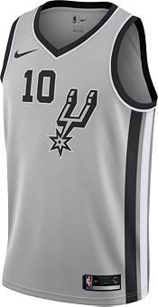 Nike Men's San Antonio Spurs DeMar DeRozan #10 Grey Dri-FIT Statement Swingman Jersey product image