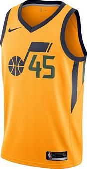 Nike Men's Utah Jazz Donovan Mitchell #45 Gold Dri-FIT Statement Swingman Jersey product image