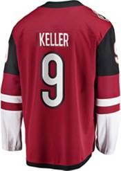 NHL Men's Arizona Coyotes Clayton Keller #9 Breakaway Home Replica Jersey product image