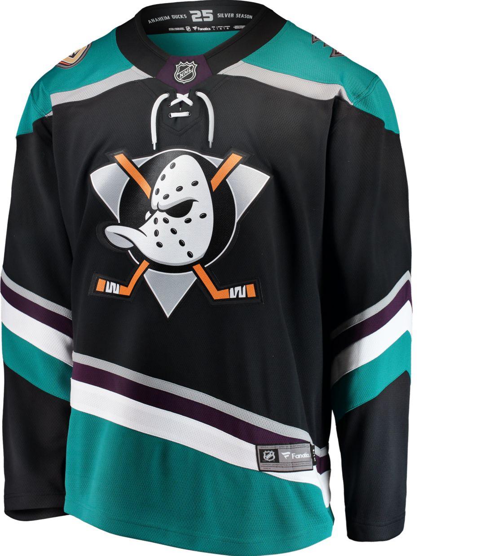 huge selection of 3a5df 3f095 NHL Men's Anaheim Ducks Breakaway Alternate Alternate Replica Jersey