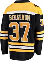 NHL Men's Boston Bruins Patrice Bergeron #37 Breakaway Home Replica Jersey product image