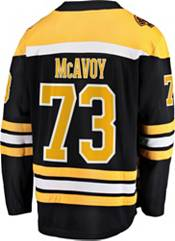 NHL Men's Boston Bruins Charlie McAvoy #73 Breakaway Home Replica Jersey product image