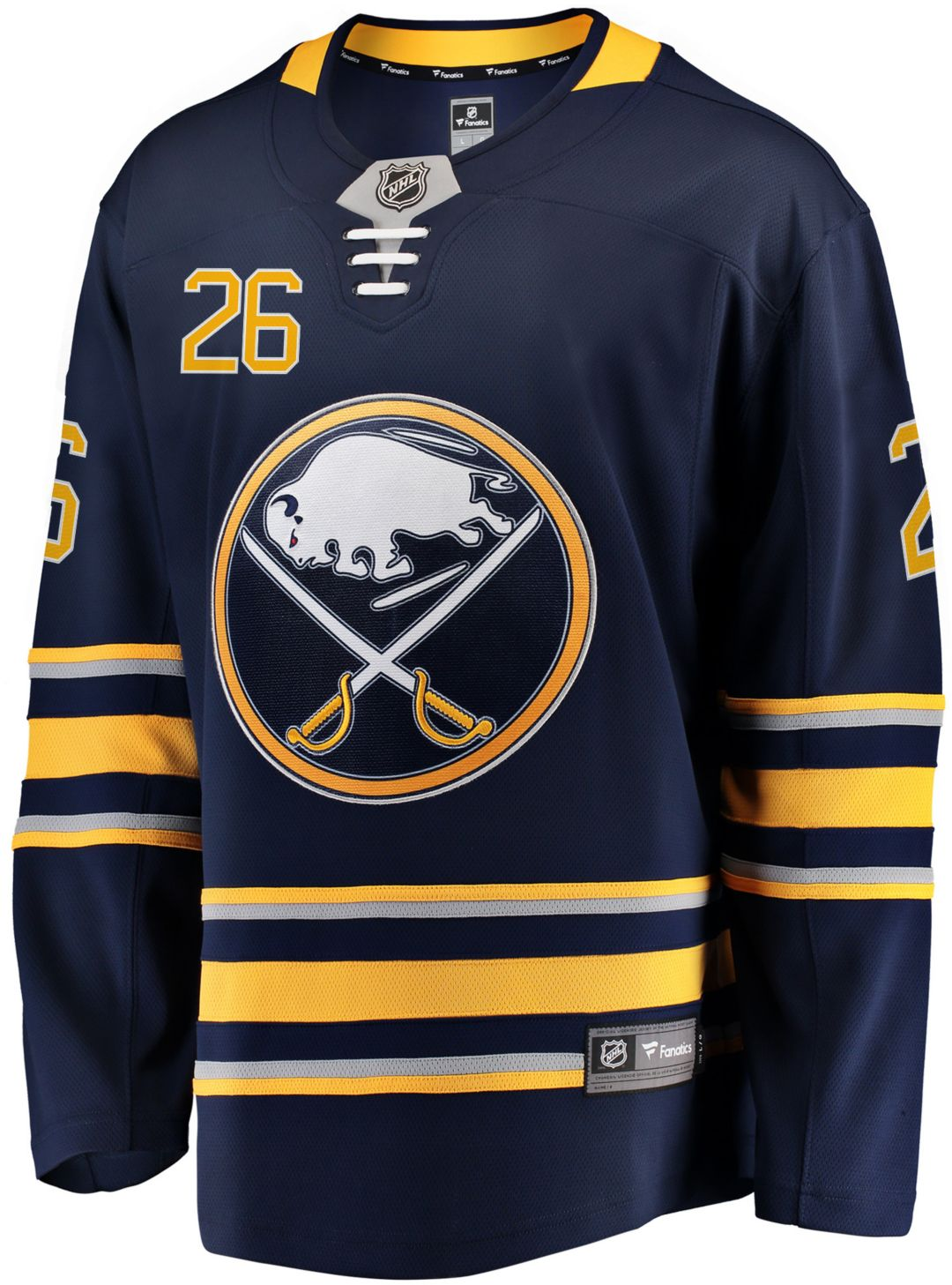 buy popular 874e7 d5073 NHL Men's Buffalo Sabres Rasmus Dahlin #26 Breakaway Home Replica Jersey
