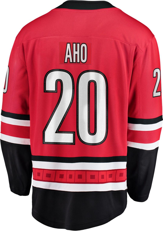 brand new 49af3 acb94 NHL Men's Carolina Hurricanes Sebastian Aho #20 Breakaway Home Replica  Jersey