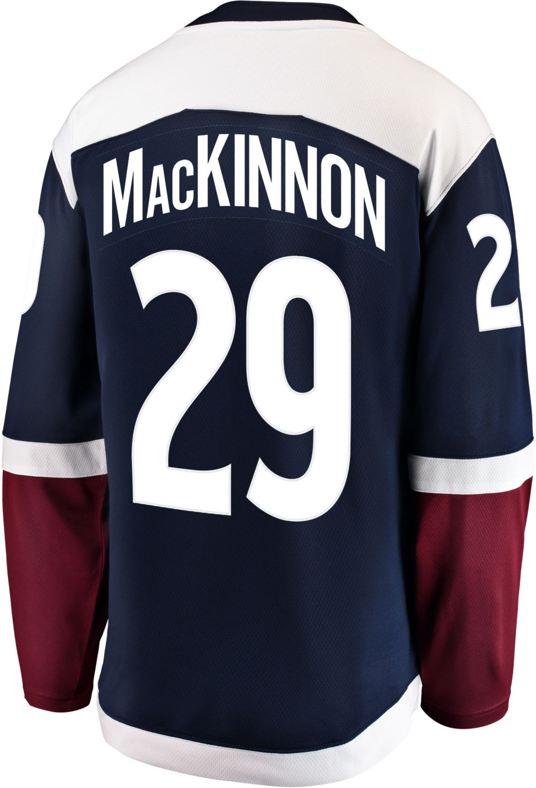 new product 9dd20 25fb8 NHL Men's Colorado Avalanche Nathan MacKinnon #29 Breakaway Alternate  Replica Jersey