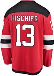 NHL Men's New Jersey Devils Nico Hischier #13 Breakaway Home Replica Jersey product image