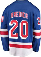 NHL Men's New York Rangers Chris Kreider #20 Breakaway Home Replica Jersey product image
