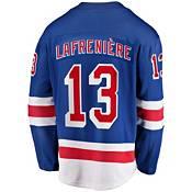 Fanatics Men's Replica New York Rangers Alexis Lafreniere #13 Jersey product image
