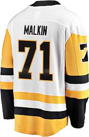 NHL Men's Pittsburgh Penguins Evgeni Malkin #71 Breakaway Away Replica Jersey product image