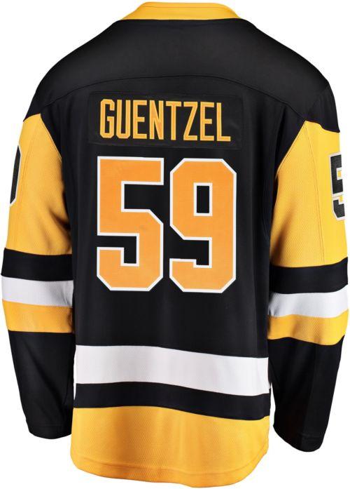 NHL Men s Pittsburgh Penguins Jake Guentzel  59 Breakaway Home Replica  Jersey 3 ed987750b