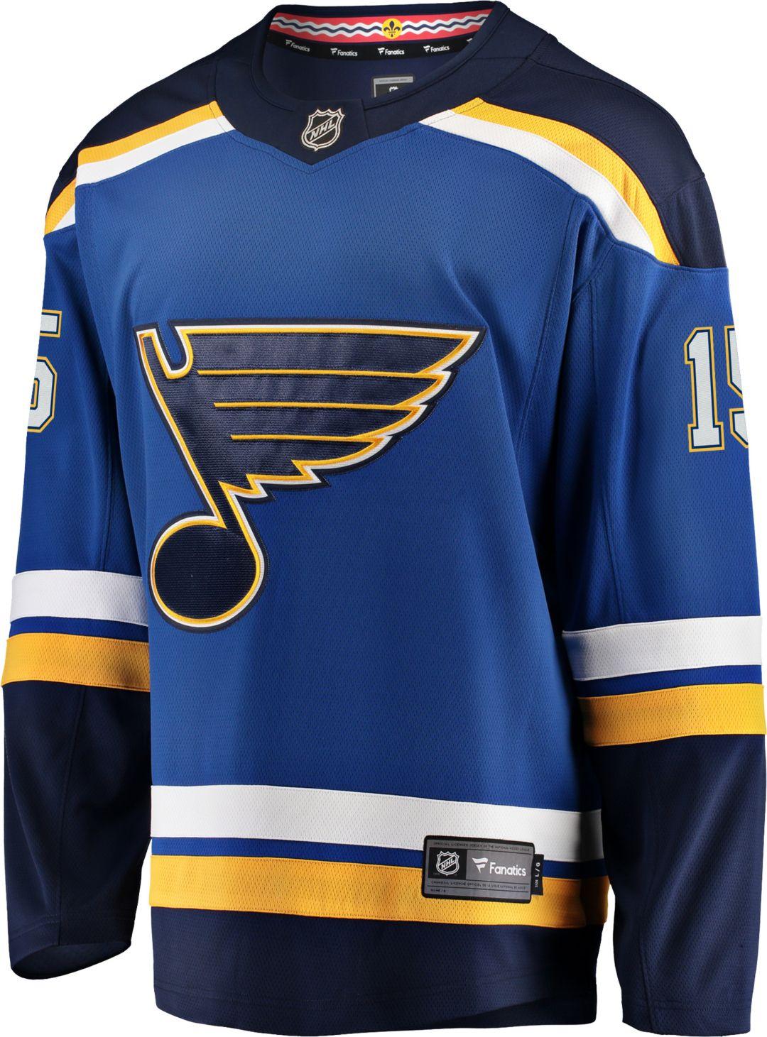 online store e4f09 b1562 NHL Men's St. Louis Blues Robby Fabbri #15 Breakaway Home Replica Jersey